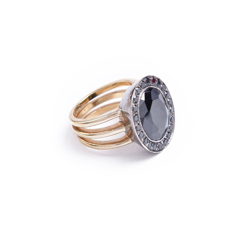 Black Galaxy Ring