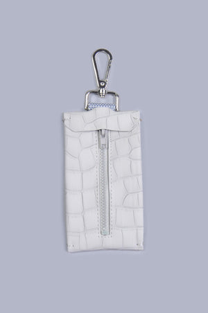 The Hyde waste bag holder - Grey Alligator