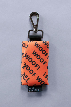 The Yoyogi waste bag holder - Woof Woof! Print