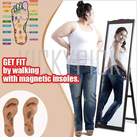 (BUY 1 Pair & TAKE 1 Pair Promo) Acupressure Healing Magnetic Insoles