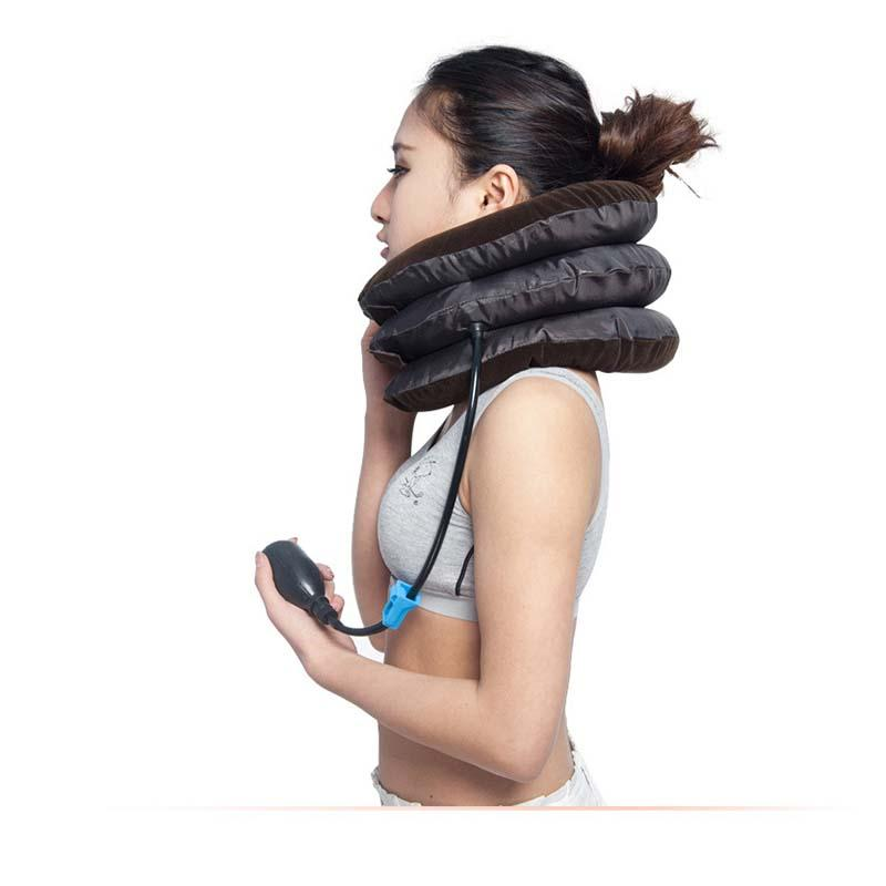 Inflatable Cervical Neck Support Pillow