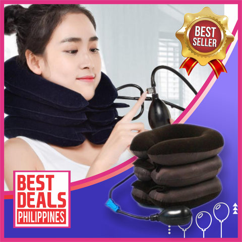 Image of Inflatable Cervical Neck Support Pillow