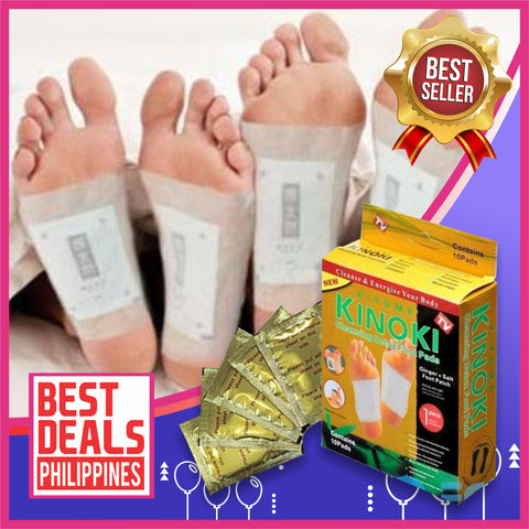 (Buy 1 Box & Take 4 Boxes for FREE) Herbal Ginger Salt Detox Foot Cleansing Patches