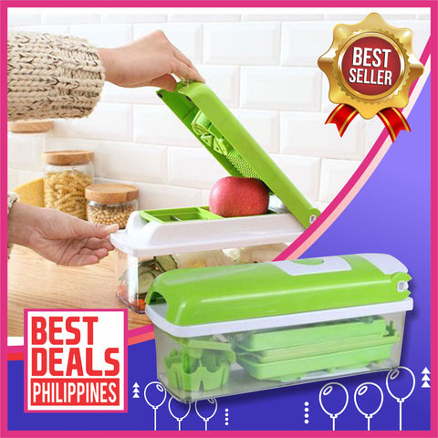 Image of 12 in 1 Premium Multifunctional Vegetable Slicer Box