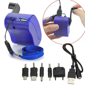 (Buy 1 Take 1 Promo) Portable Hand Crank Emergency Cellphone Charger