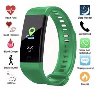All-in-One Smart Health & Fitness Watch
