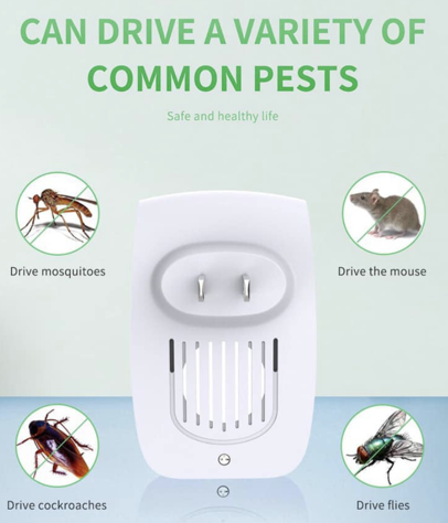 (Buy 1 Take 2 Promo) Enhanced UltraSonic Insects and Pest Repellent (Limited Supplies)