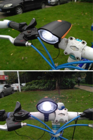 (BUY 1 TAKE 1) Powerful Bicycle Horn Lights (Color: Blue/Orange/Red)
