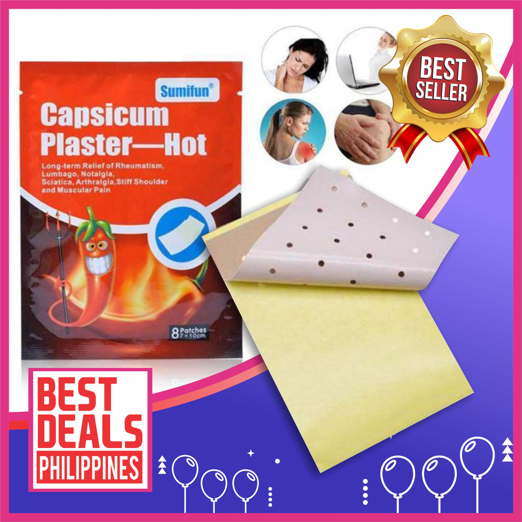(Buy 1 Take 1) Pain Relief Capsicum Essence Healing Patch (8pcs/Pack)