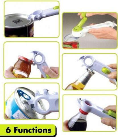 Image of Super 7 in 1 Kitchen Multifunctional Can Opener