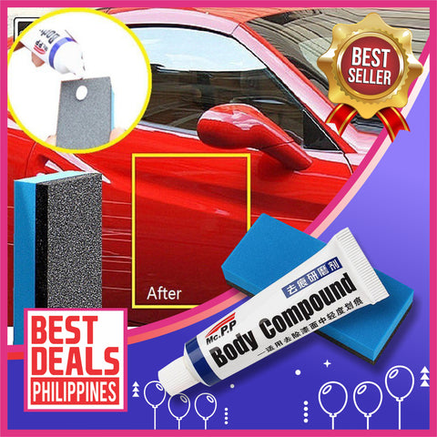 Image of (Buy 1 Take 1 Promo) Car Scratch Repair Body Compound Kit + 1 Haoshun Scratch Remover