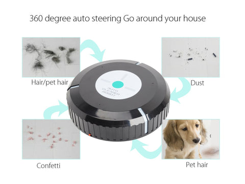 Image of Home Auto Sweeper and Cleaner Robot