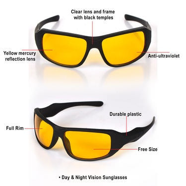 Image of (BUY 1 TAKE 1 Promo) HD Vision Anti-Glare Day and Night View Driving Glasses
