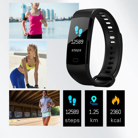 Image of All-in-One Smart Health & Fitness Watch