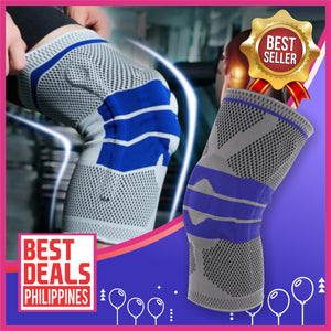 The Best High Compression Silicone Padded Knee Support (1pc)