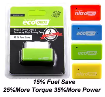 Original EcoFuel Saver and Nitro Turbo ECU Chip Tuning Box