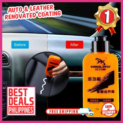 (Buy 1 Take 1 Xmas Promo) CarTech Auto & Leather Renovated Coating