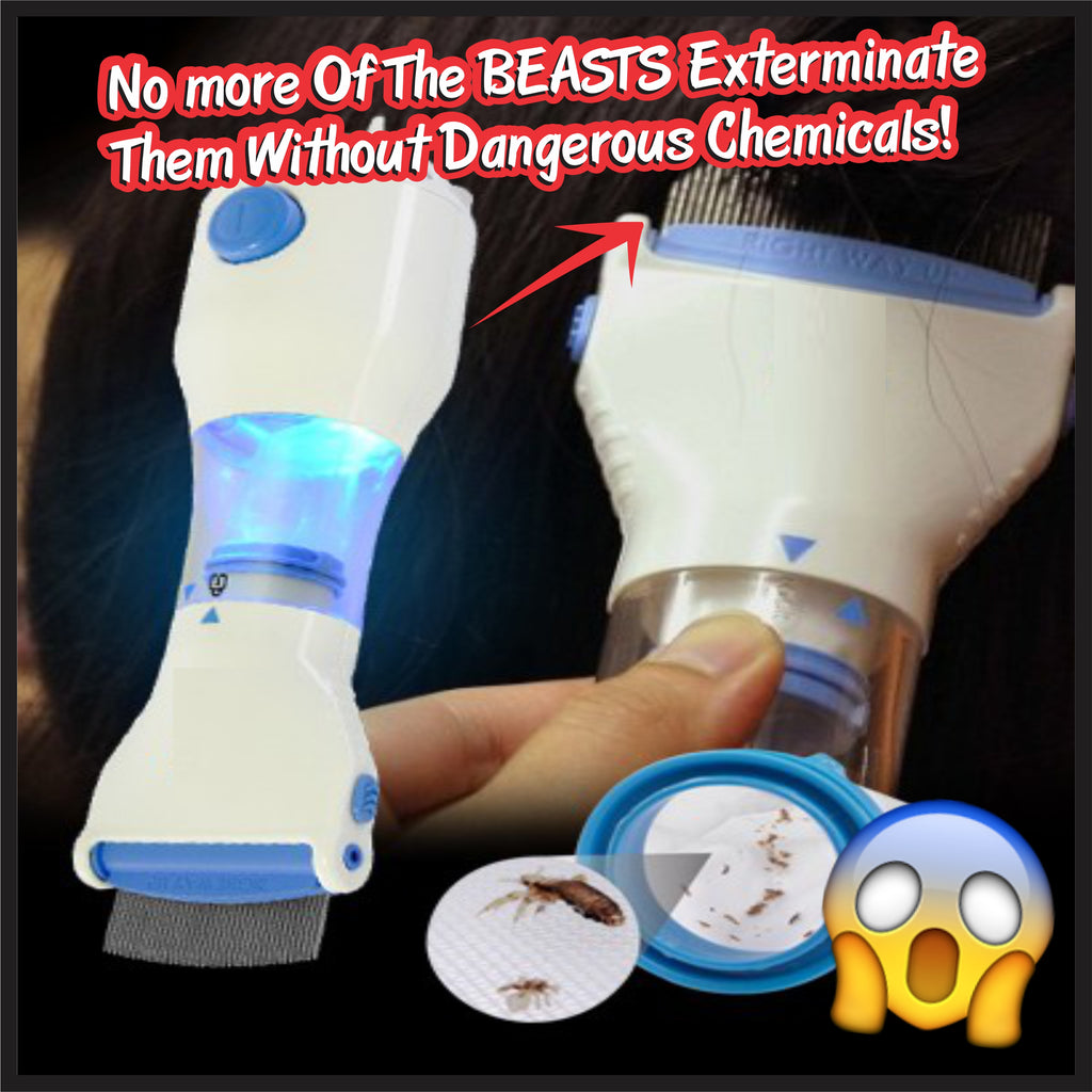 Automatic Head Lice Eliminator