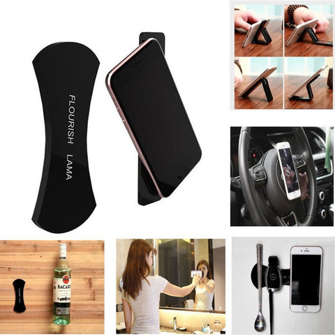 (Buy 1 set Take 1 set FREE) Cellphone Car and Wall Mount Stick Gel Pads (2pcs per Set)
