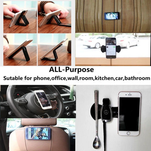 Image of (Buy 1 set Take 1 set FREE) Cellphone Car and Wall Mount Stick Gel Pads (2pcs per Set)