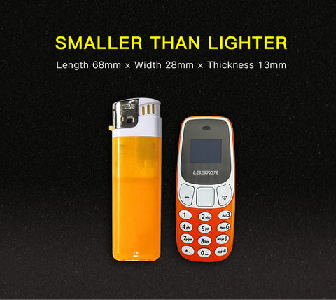 World's Smallest Phone with Bluetooth and Dual Sim