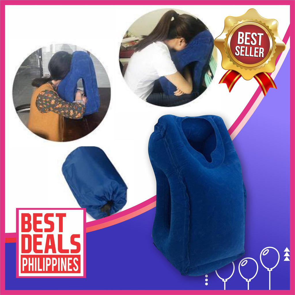 TravelTech Inflatable Air Travel Pillow