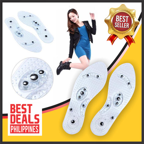 Image of (BUY 1 Pair & TAKE 1 Pair Promo) Acupressure Healing Magnetic Insoles
