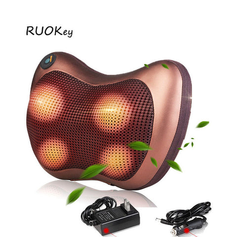 Image of HealthTech Shiatsu Pillow Massager with Heater