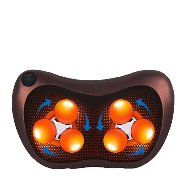 HealthTech Shiatsu Pillow Massager with Heater