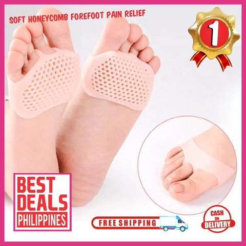 (Buy 1 Take 1 Xmas Promo) Soft Honeycomb Forefoot Pain Relief (2 pairs)