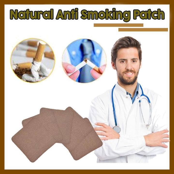 Miracle All-Natural Quit Smoking Patches (30-35 Pcs)