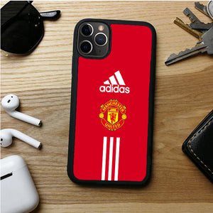 MANCHESTER ADIDAS THREE STRIP IPHONE 11 | 11 PRO | 11 PRO MAX CASES