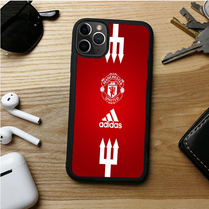 MANCHESTER UNITED ADIDAS IPHONE 11 | 11 PRO | 11 PRO MAX CASES