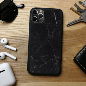 MARBLE BLACK HOLD IPHONE 11 | 11 PRO | 11 PRO MAX CASES