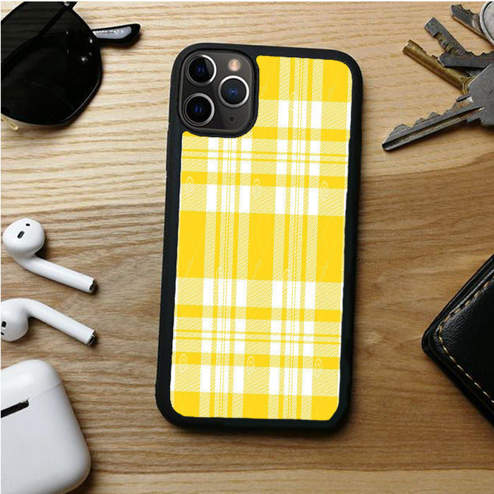 YELLOW PLAID  AMBROS IPHONE 11 | 11 PRO | 11 PRO MAX CASES