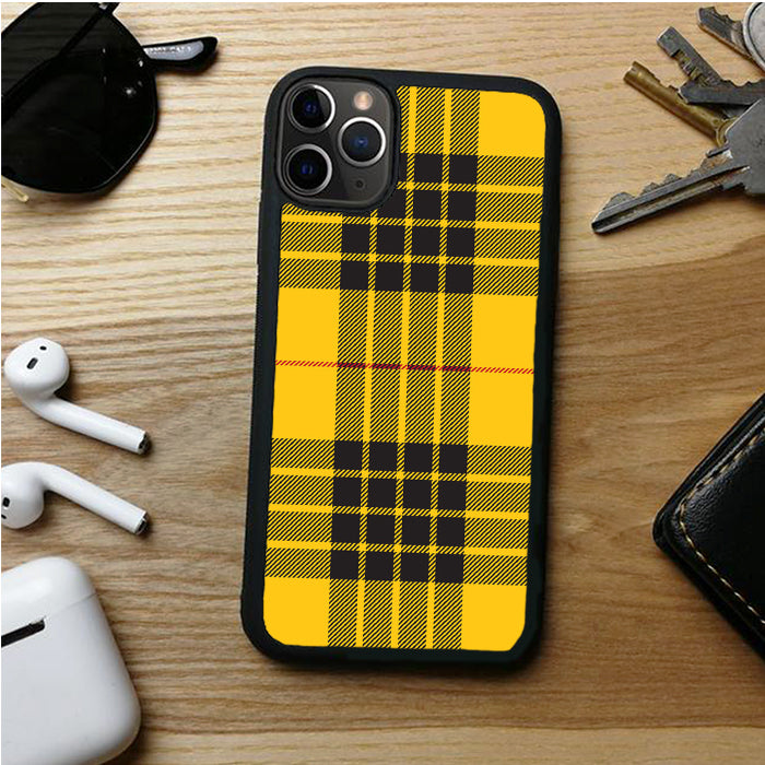 YELLOW PLAID CENTRAL IPHONE 11 | 11 PRO | 11 PRO MAX CASES
