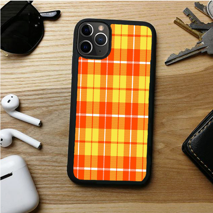 YELLOW PLAID HERMAS IPHONE 11 | 11 PRO | 11 PRO MAX CASES