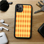 YELLOW PLAID HIGRT IPHONE 11 | 11 PRO | 11 PRO MAX CASES