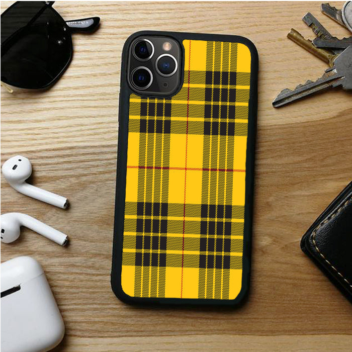 YELLOW PLAID OPERSA IPHONE 11 | 11 PRO | 11 PRO MAX CASES