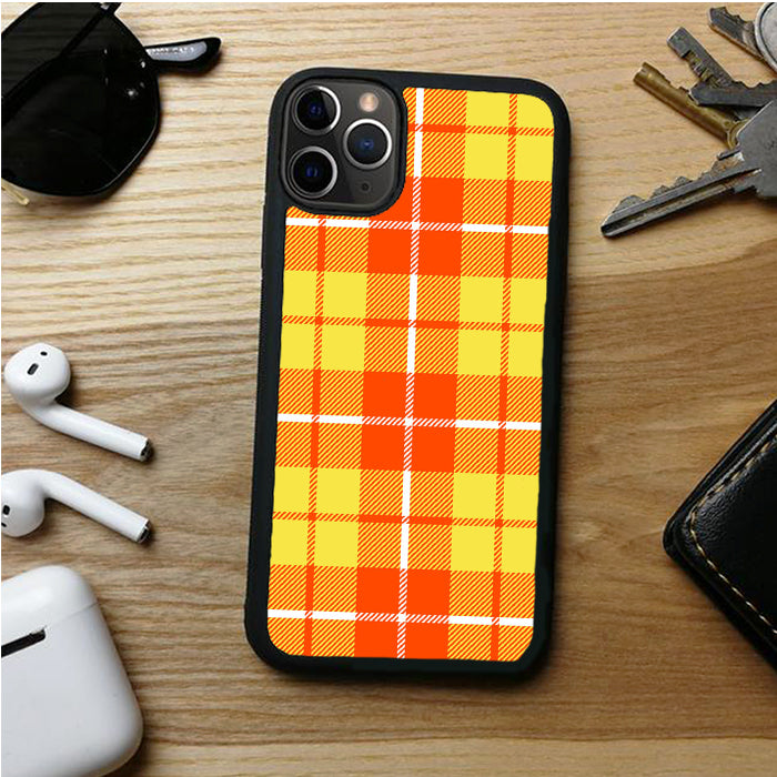 YELLOW PLAID QUINSLAND IPHONE 11 | 11 PRO | 11 PRO MAX CASES