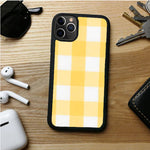 YELLOW PLAID YOUNG IPHONE 11 | 11 PRO | 11 PRO MAX CASES