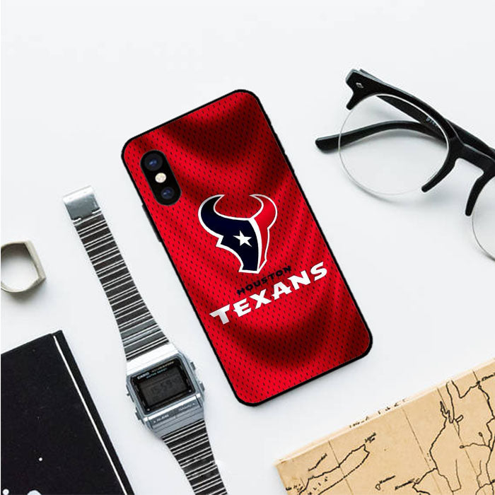 Houston Texans Red Background Iphone Xs