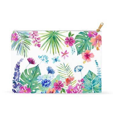 Tropical Garden Pouch