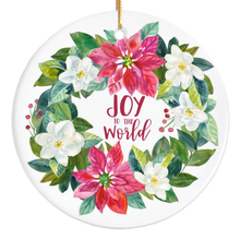 Load image into Gallery viewer, Joy to the World Porcelain Ornament