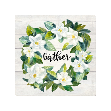 Magnolia Wreath Gather Mini Canvas 8