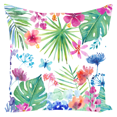 Tropical Garden Pillow
