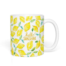 Load image into Gallery viewer, Hello Sunshine Lemons Mug