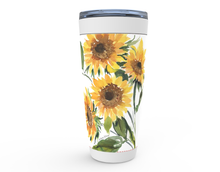 Load image into Gallery viewer, Sunflower Tumbler