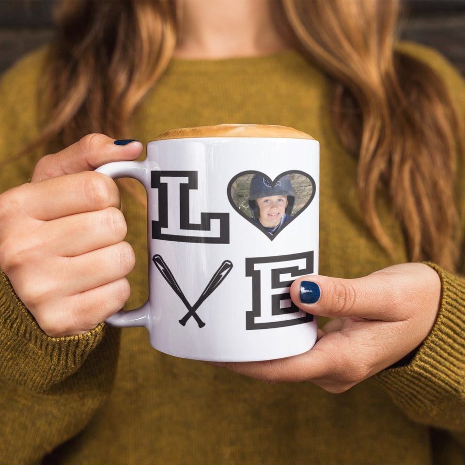 Baseball Love Personalized Mug