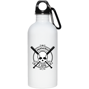 "Diamond Life ""Origins"" 20 oz. Stainless Steel Water Bottle - GrandSlamDirect.com"